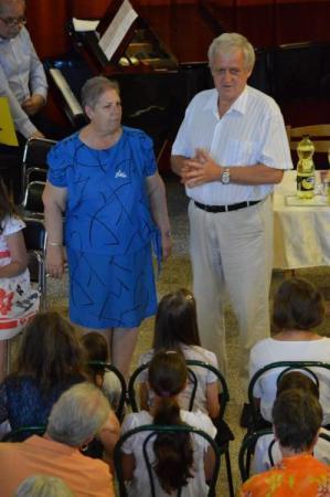 Gyál, Kodály Zoltán AMI, tanévzáró ünnepély, zeneiskola, bizonyítványosztás