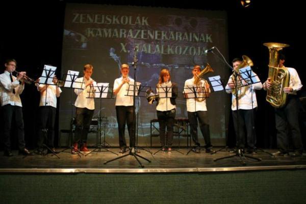Zeneiskolák Kamarazenekarainak X. Találkozója - Gyál