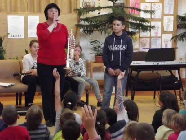 Kodály Zoltán AMI, Gyál - Óvodai hangszerbemutató a Tulipán Óvodában