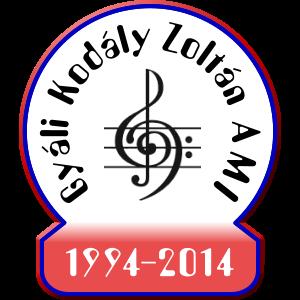 A Gyáli Kodály Zoltán AMI logója