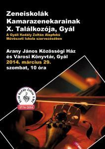 Zeneiskolák Kamarazenekarainak X. Találkozója