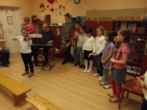 Kodály Zoltán AMI - Óvodai hangszerbemutató a Tátika Óvodában