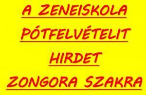 Gyáli Kodály Zoltán AMI, zeneiskola, Gyál, zongora, pótfelvételi, zongora szak